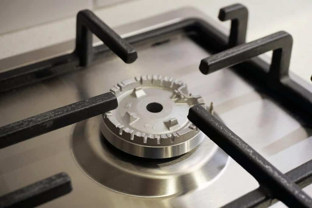Cooker Hob Spring Cleaning
